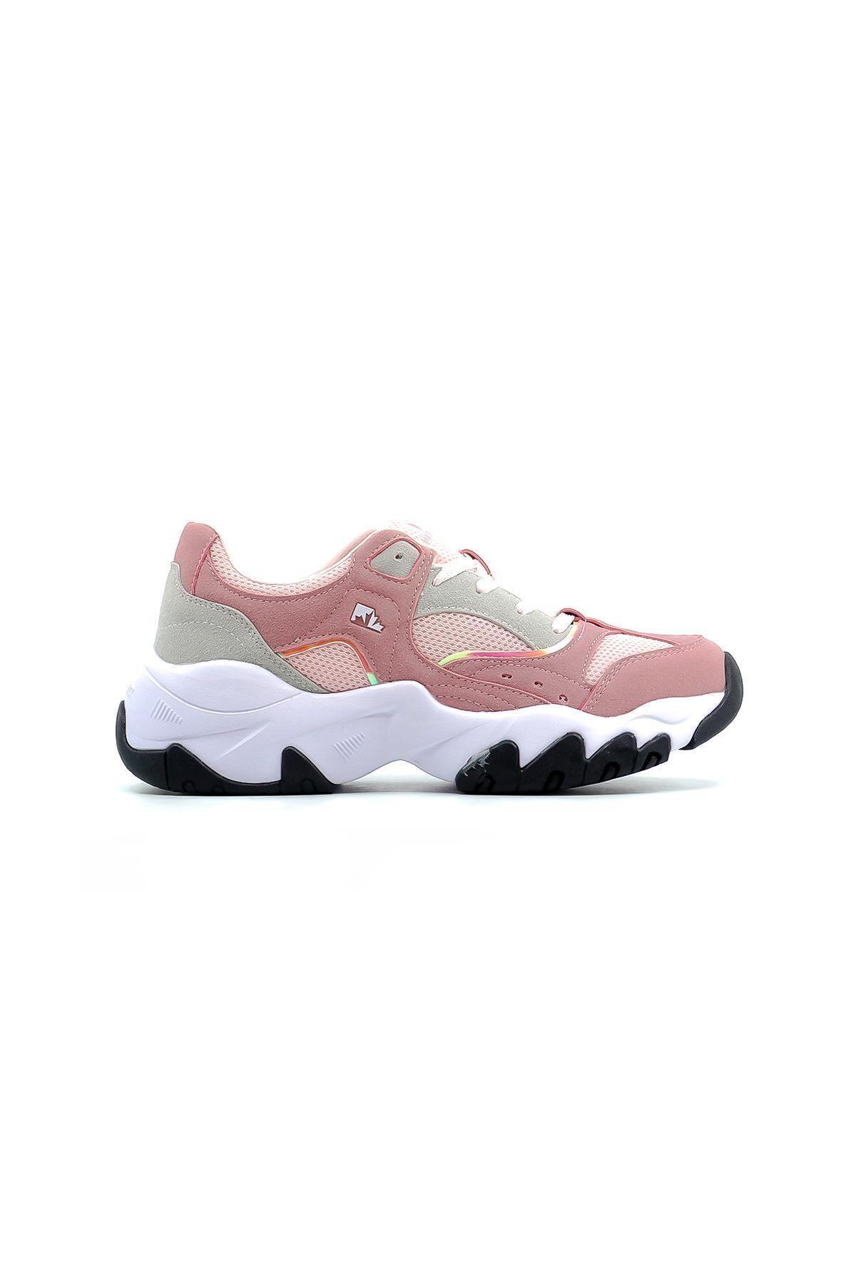 lumberjack Kadın Pembe Pudra Regına Sneaker Ayakkabı 1