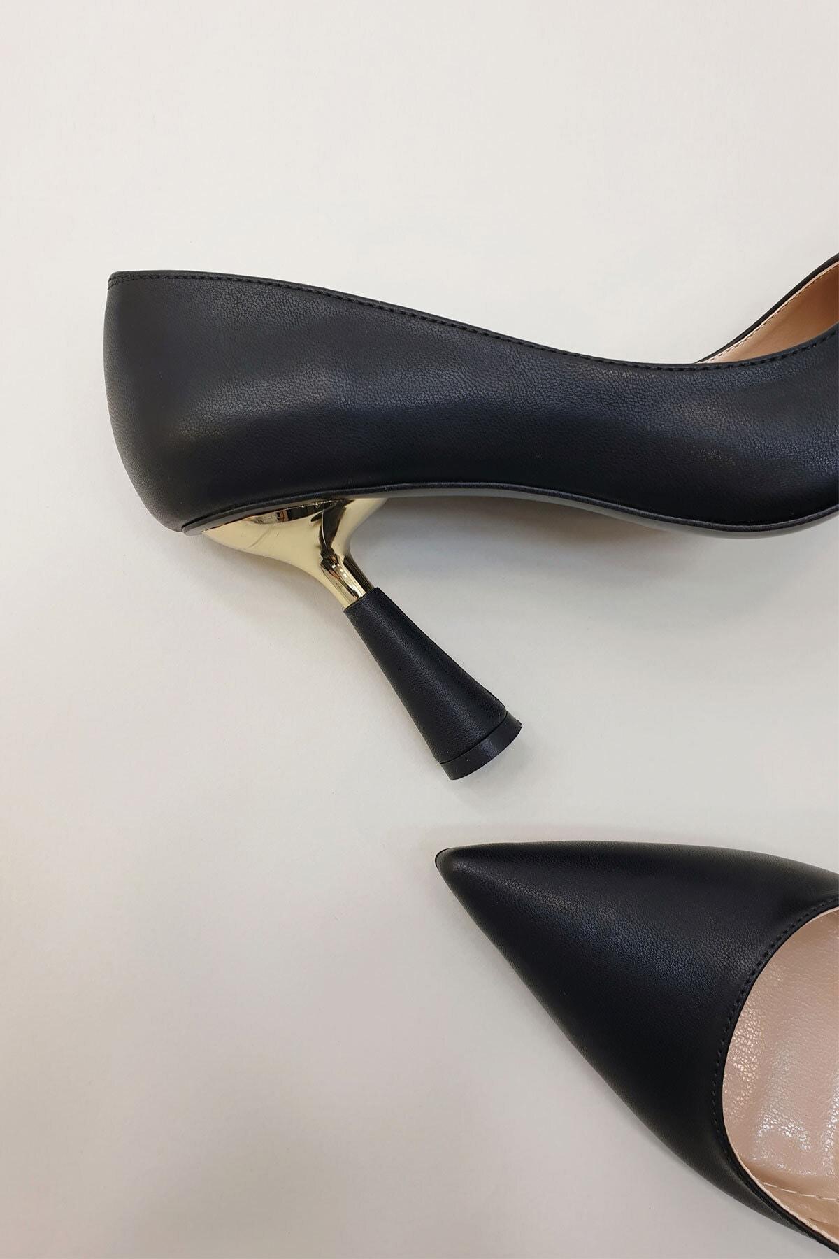 Marjin Kadın Estor Topuklu Ayakkabısiyah 2