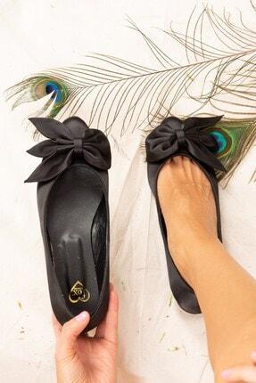 Fox Shoes Kadın Siyah Babet H726810504
