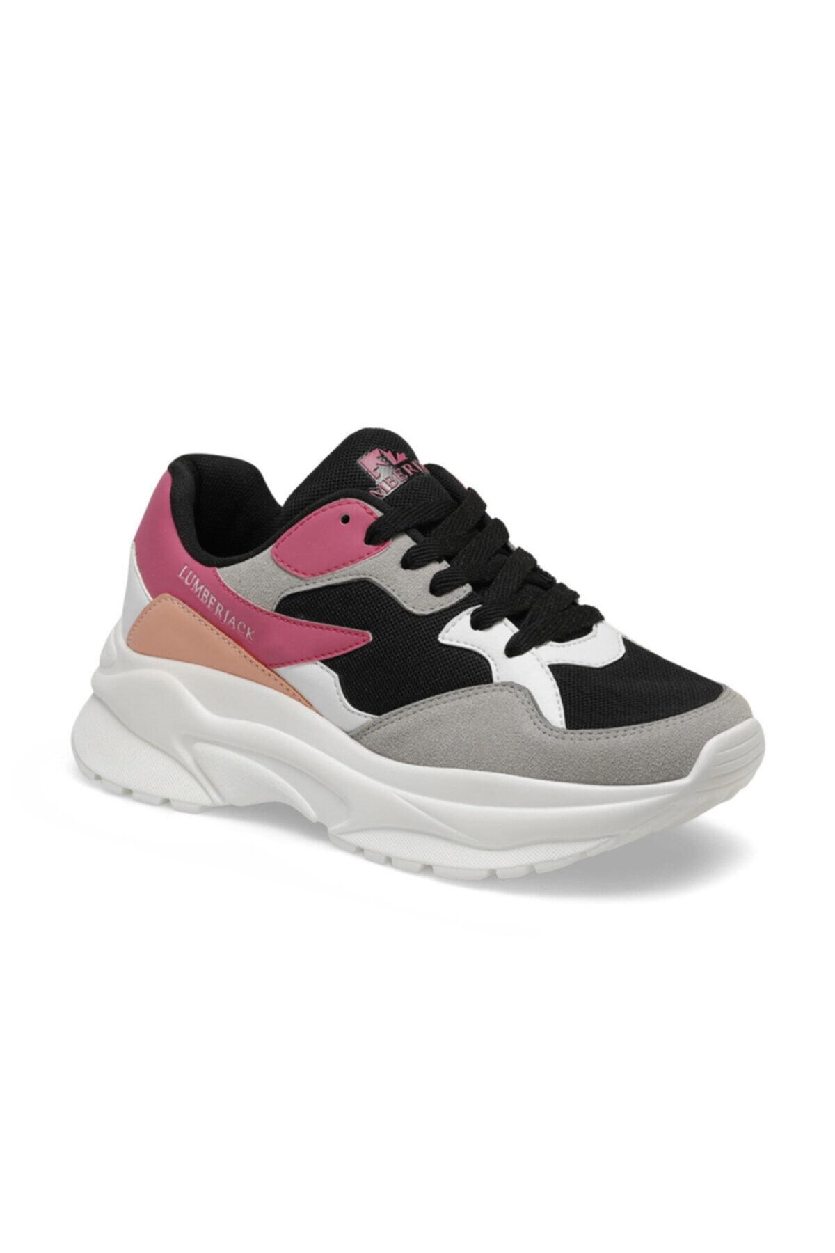 lumberjack Layla Siyah Kadın Sneaker Ayakkabı 1