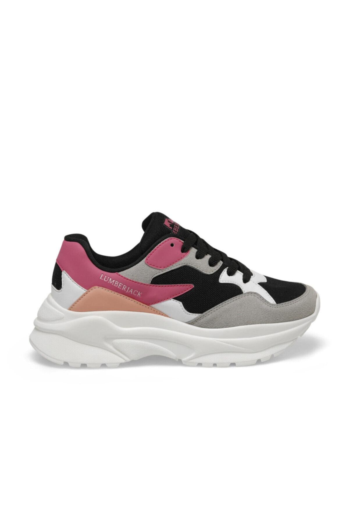 lumberjack Layla Siyah Kadın Sneaker Ayakkabı 2