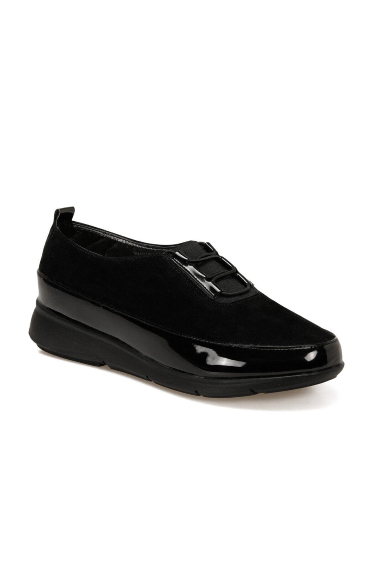 Polaris 161317.RZ Siyah Kadın Comfort Ayakkabı 100548299 1