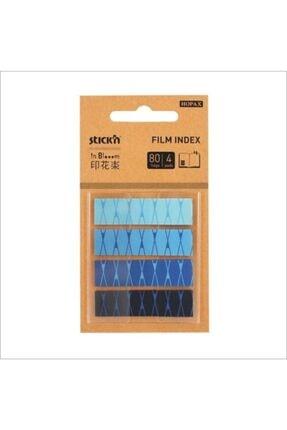 Hopax Gıpta Desenli Yapışkan Kağıt Postit 4 Renk