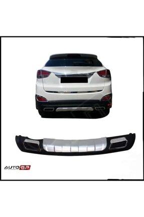 Niken Hyundai Ix35 Arka Tampon Koruma Difüzör Oem Plastik