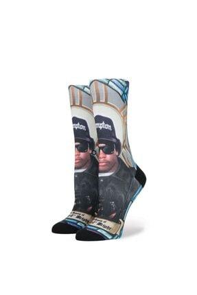 Stance Kadın Çorap Praise Eazy-e Blue