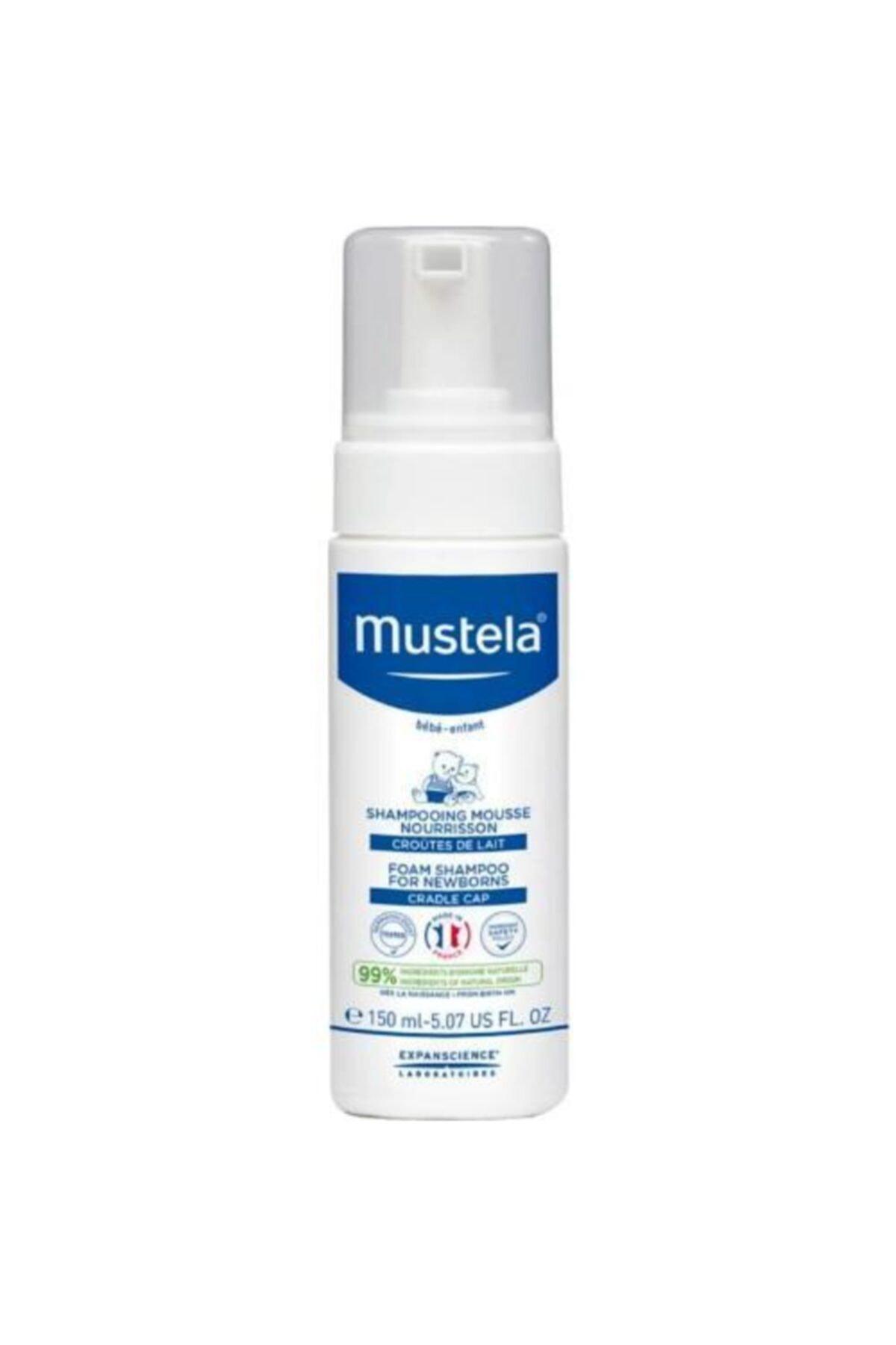 Mustela Yenidoğan Konak Önleyici Köpük Şampuan 150 ml 1