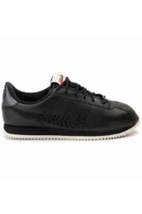 Nike Kadın Siyah Cortez Basic Prm Emb Spor Ayakkabı Av1336