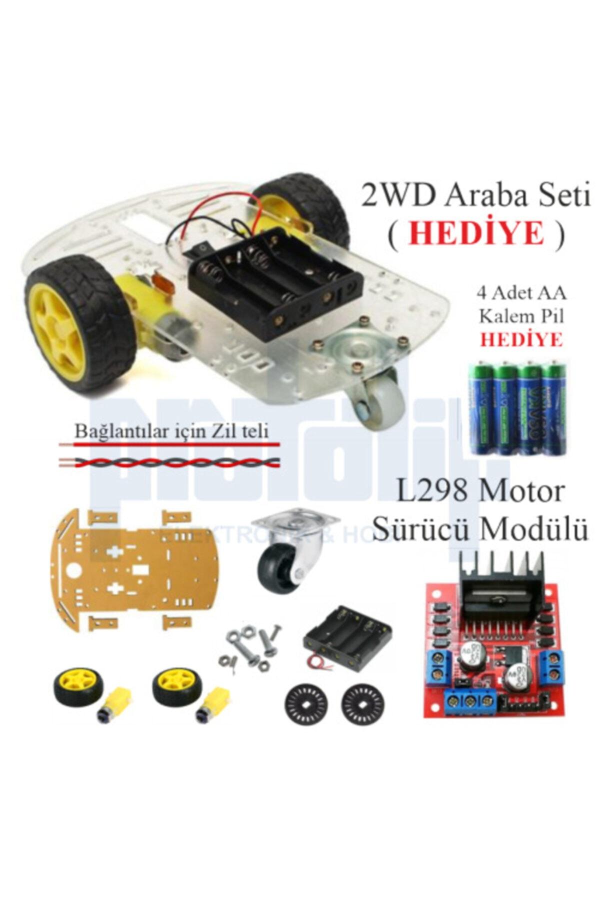 Arduino Başlangıç Seti Uno R3 105 Parça 327 Adet 2