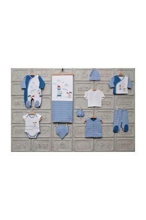 Bebitof Erkek Bebek Mavi Denizci 10'lu Hastane Çıkışı