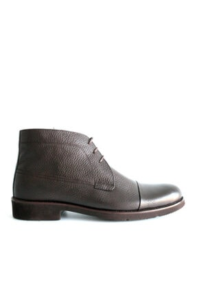 Beta Shoes Erkek Kahverengi Deri Bot