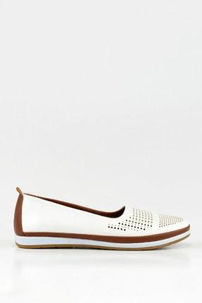 Hotiç Beyaz Yaya Kadın Günlük Ayakkabı