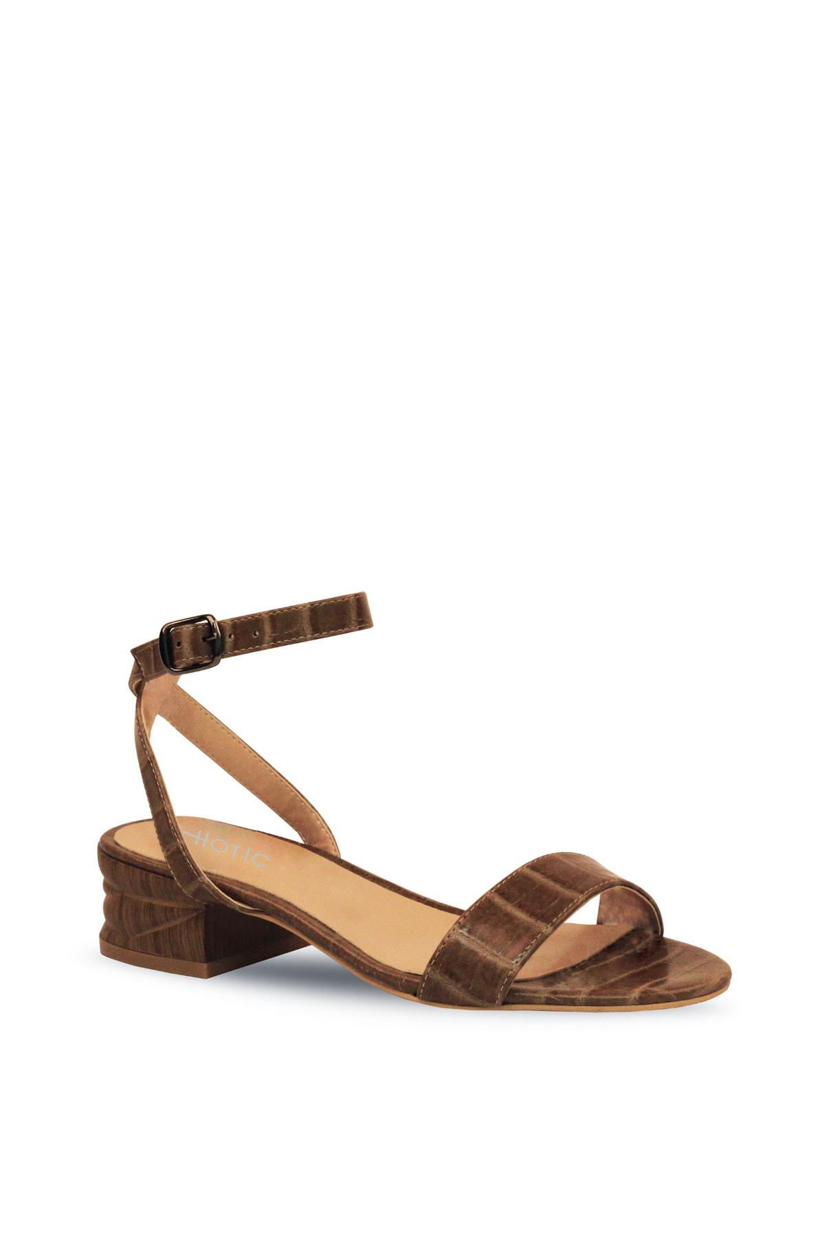 Hotiç Vizon Kadın Düz Sandalet 2