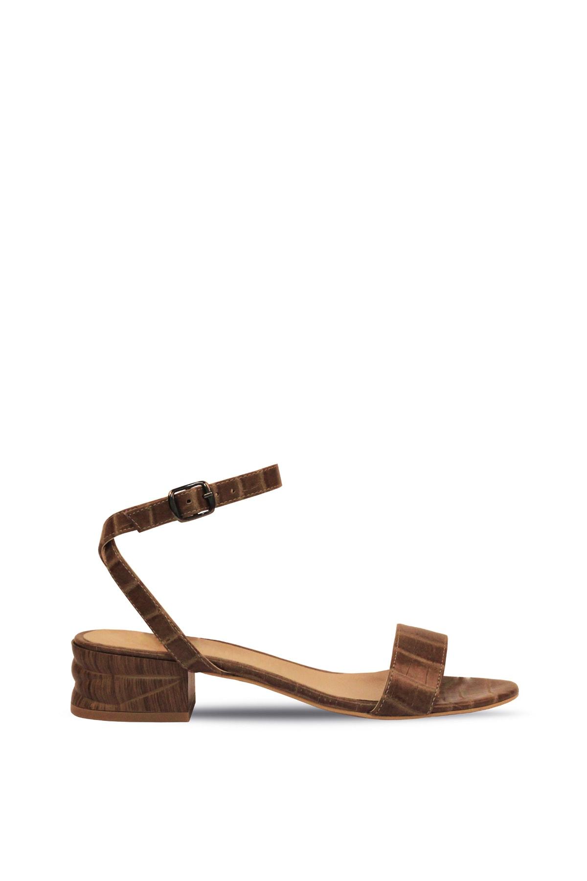Hotiç Vizon Kadın Düz Sandalet 1