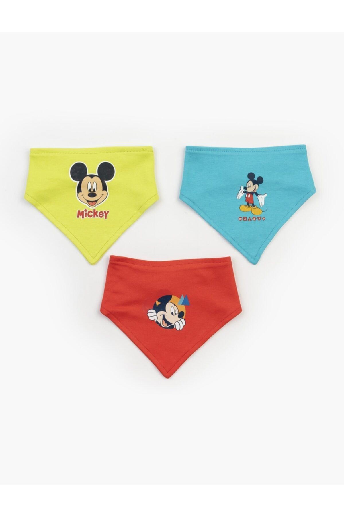 Mickey Mouse Disney 3'lü Önlük Set 17320 1