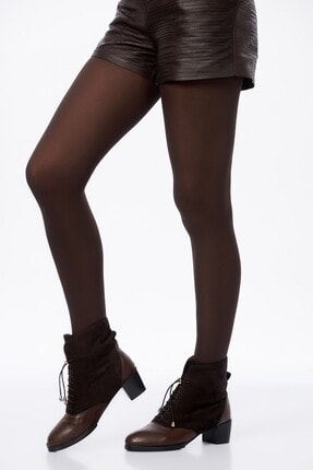 Penti Kadın Bronz Micro 40 Den Külotlu Çorap PCLPA16K09SK