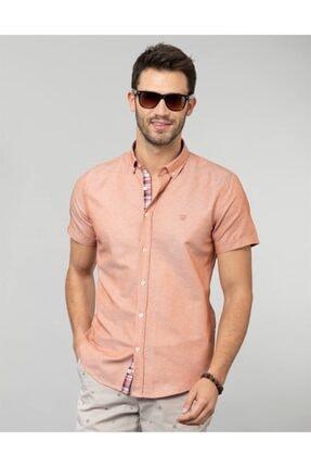 Tudors Slim Fit Kısa Kol Erkek Gömlek