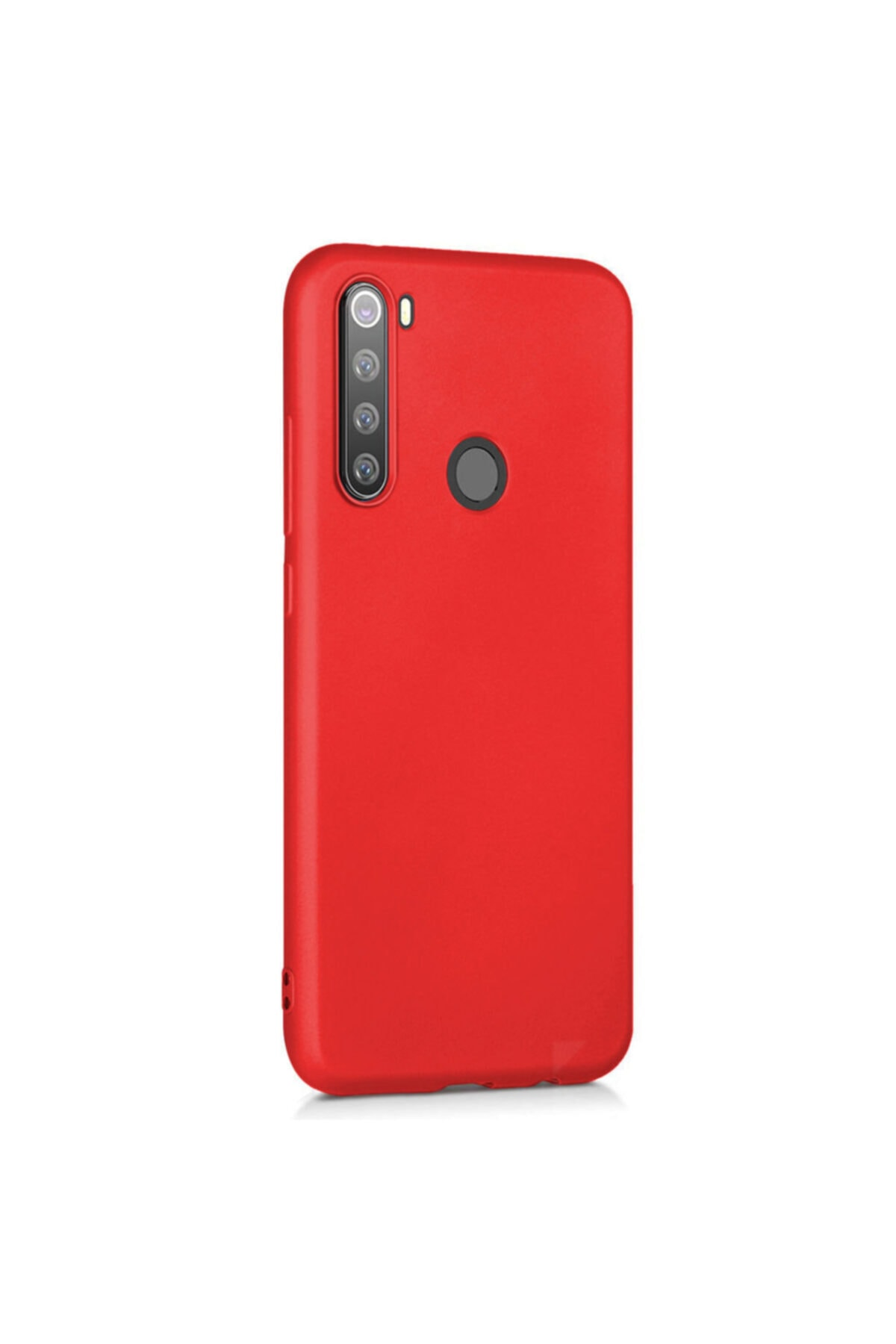 Telefon Aksesuarları Redmi Note 8 Yumuşak Silikon Kılıf Kırmızı 2