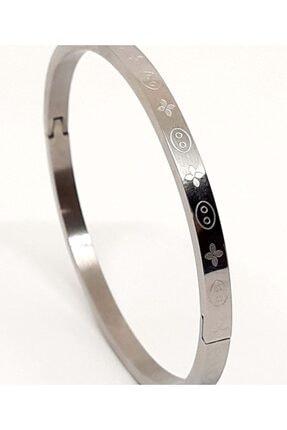 Mercan Kadın Gümüş Kelepçe Bileklik