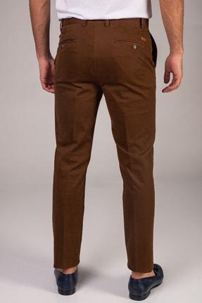 Dufy Tarçın Düz Sık Dokuma Erkek Pantolon - Regular Fıt