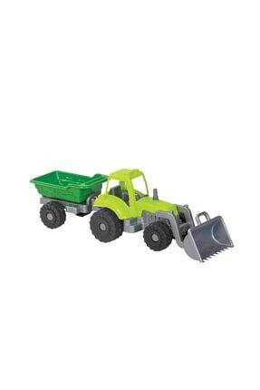 Mgs Traktör Römorklu Ve Kepçeli Oyuncak