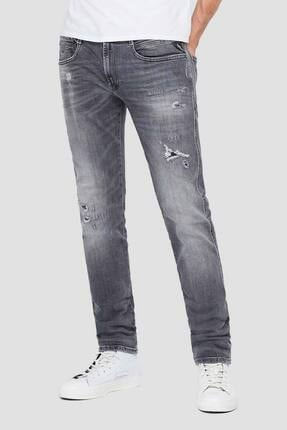 Replay Erkek Gri Anbass Jeans