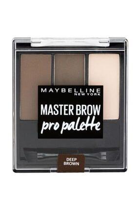 Maybelline New York Master Brow Pro Kaş Paleti - 04 Koyu Ton