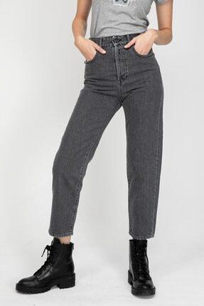 Replay Kadın  Siyah Tyna Mom Fit Jeans