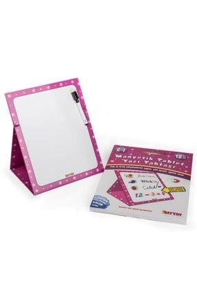 DIY Toys Pembe Manyetik Tablet Yazı Tahtası  8512