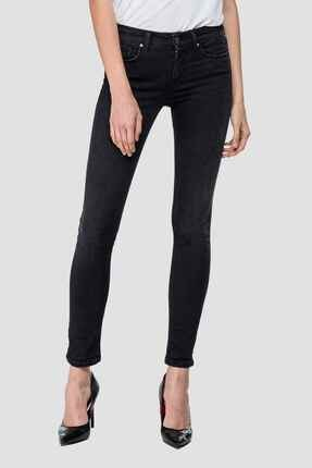 Replay Kadın Siyah Hyperflex Skinny High Waist Fit Jeans