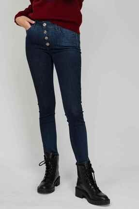 Replay Kadın  Mavi Luzien Skinny High Waist Fit Jeans