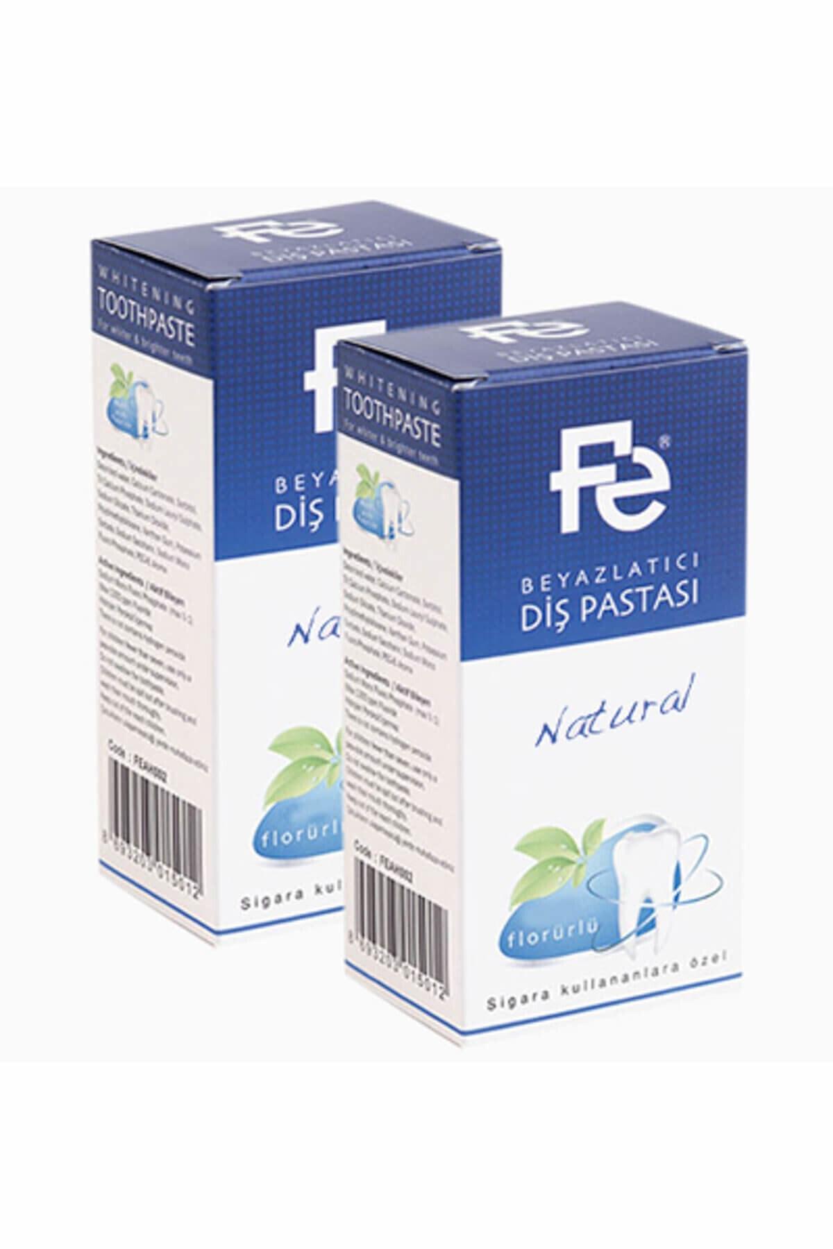 Fe Beyazlatıcı Diş Pastası Natural / Herbal X 2 Adet 1
