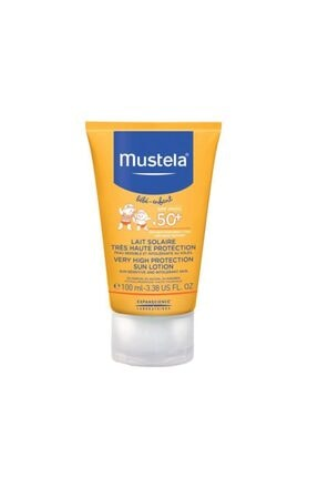 Mustela Very High Protection Sun Lotion Spf50 100 Ml
