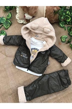 Soso Baby Erkek Haki Yumuşacık Bebek Montu