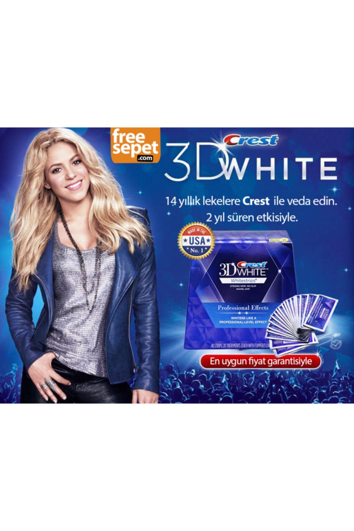 CREST 3d White Professional Effects Diş Beyazlatma Bantları (20 Bant) 2