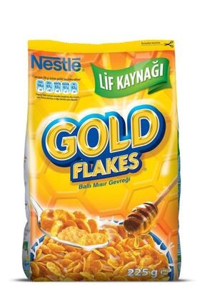 Nestle Gold Flakes Mısır Gevreği 225 gr