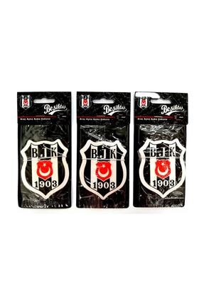 Beşiktaş Lisanslı Taraftar Asma Koku - 3 Adet