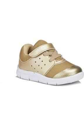 Vicco Mario Kız Bebe Altın Spor Ayakkabı