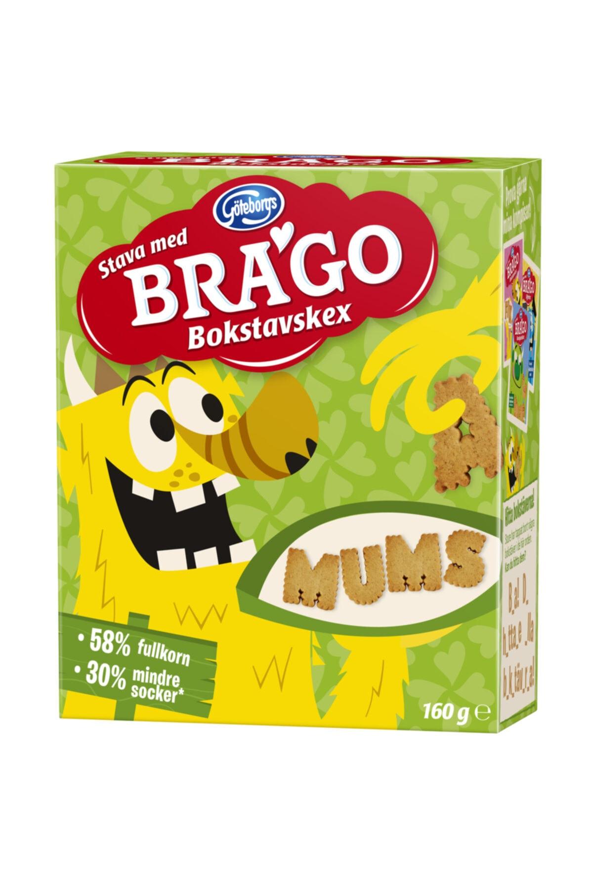 IKEA Brago Harf Şekilli Bisküvi 160g Çocuklar Için 1