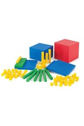Yabigel Renkli Onluk Taban Blokları