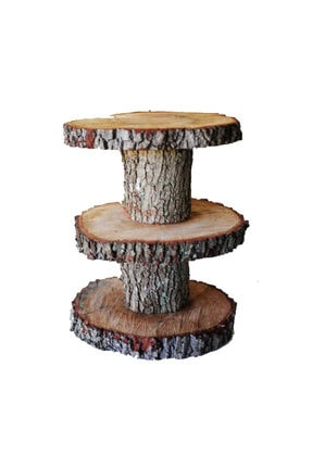 KÜTÜKhouse Ağaç Kek Standı 3 Kat