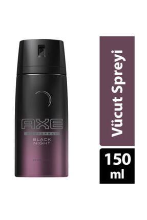 Axe Deodorant Sprey Black Night 150 Ml