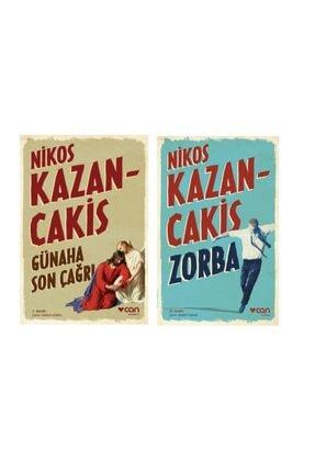 Can Yayınları Nikos Kazancakis Set, Zorba-günaha Son Çağrı