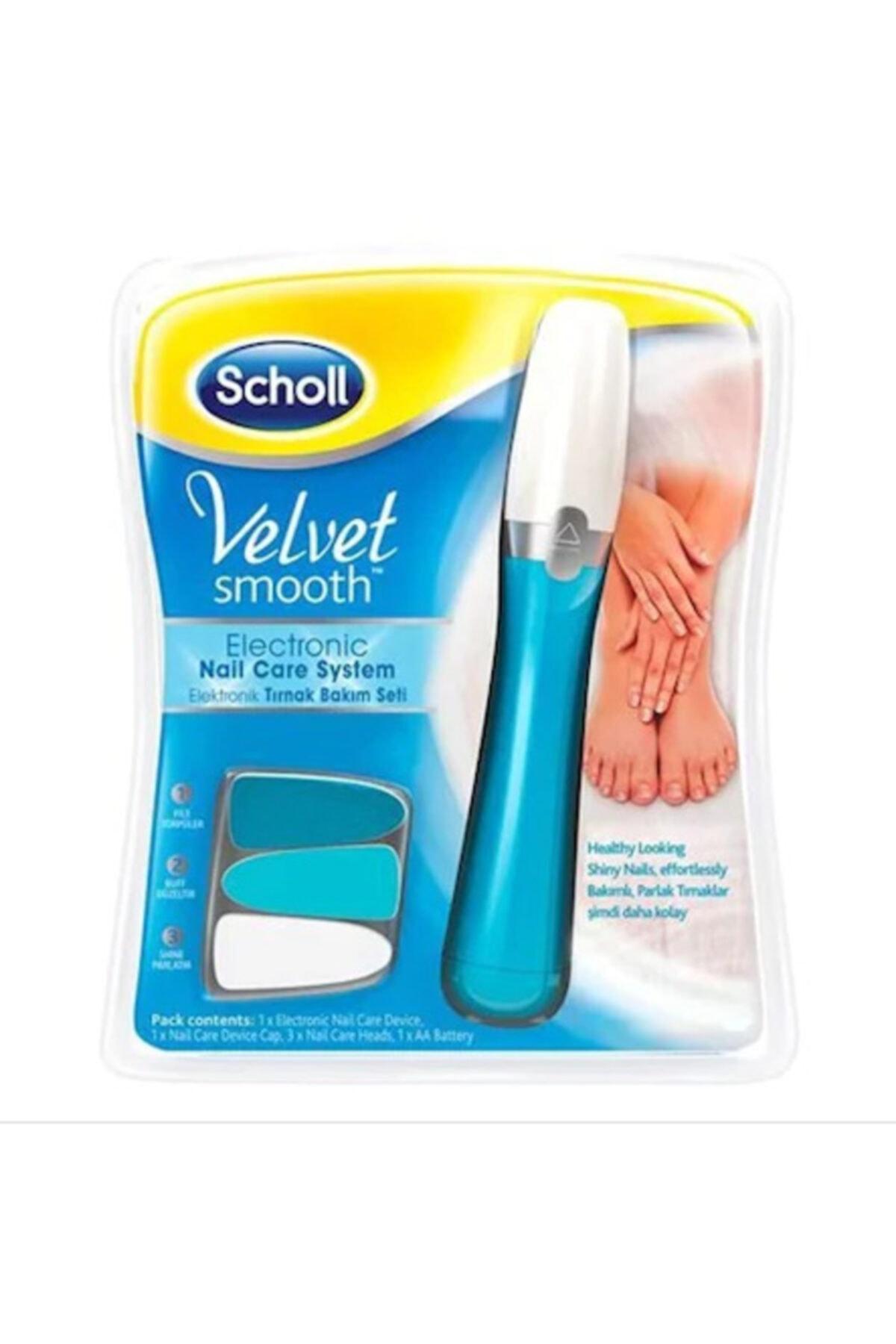 Scholl Velvet Tırnak Bakım Seti Smooth+3'lü Yedek 2