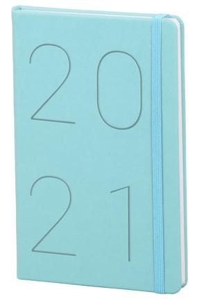 Matt Notebook 2021 Günlük Ajanda Mavi