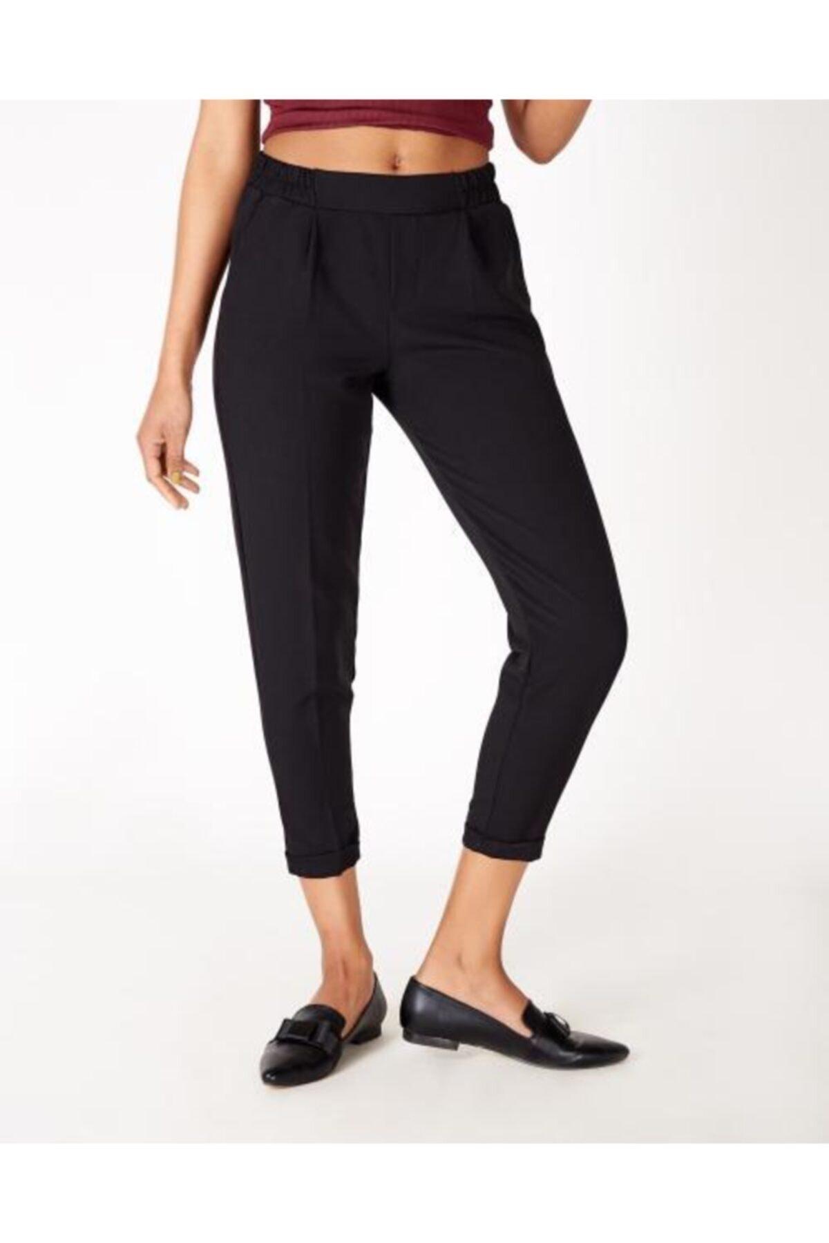 Vision Kadın Siyah Belmando Pantolon 1
