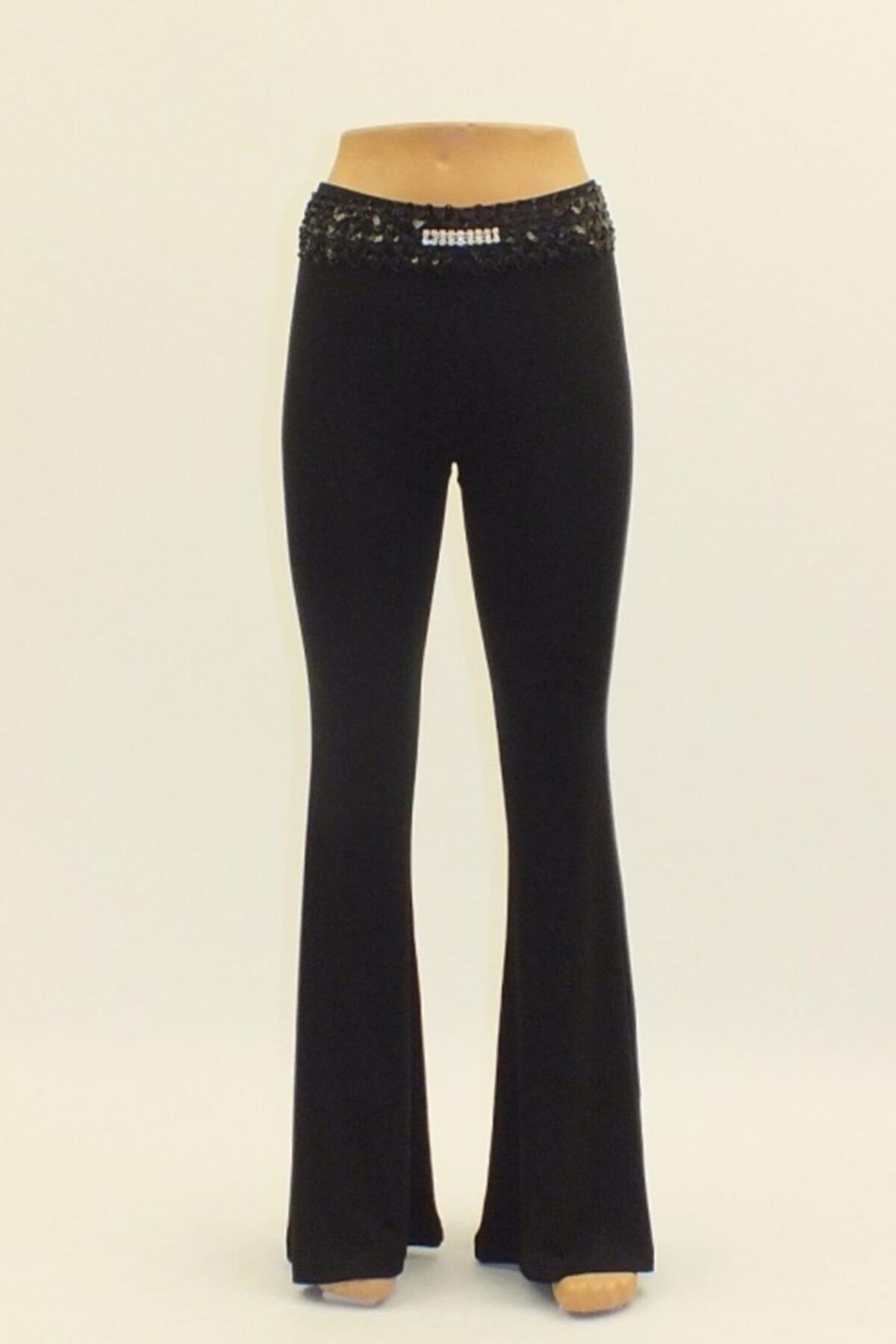Otto Kadın Siyah Pantolon 2