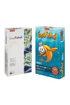 Easy Fishoil 30+30 Omega 3 Ve D Vitamini Çoçuk+Yetişkin Balık Yağları
