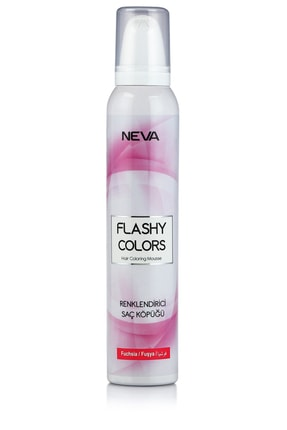 Flashy Colors Geçici Köpük Saç Boyası - Fuşya
