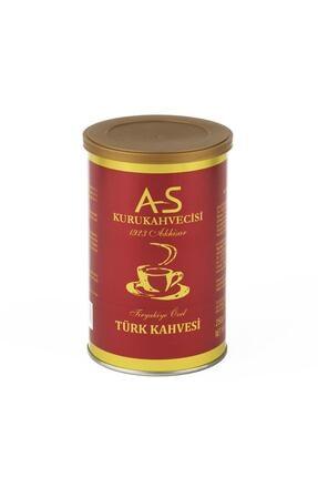 AS Kurukahvecisi Türk Kahvesi 250 Gr Teneke
