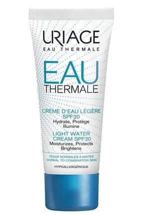 Uriage Eau Thermale Light Water Cream Spf20 40ml | Su Bazlı Nemlendirici VST3661434005039